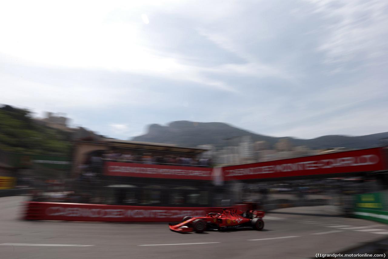 GP MONACO, 25.05.2019 - Qualifiche, Sebastian Vettel (GER) Ferrari SF90