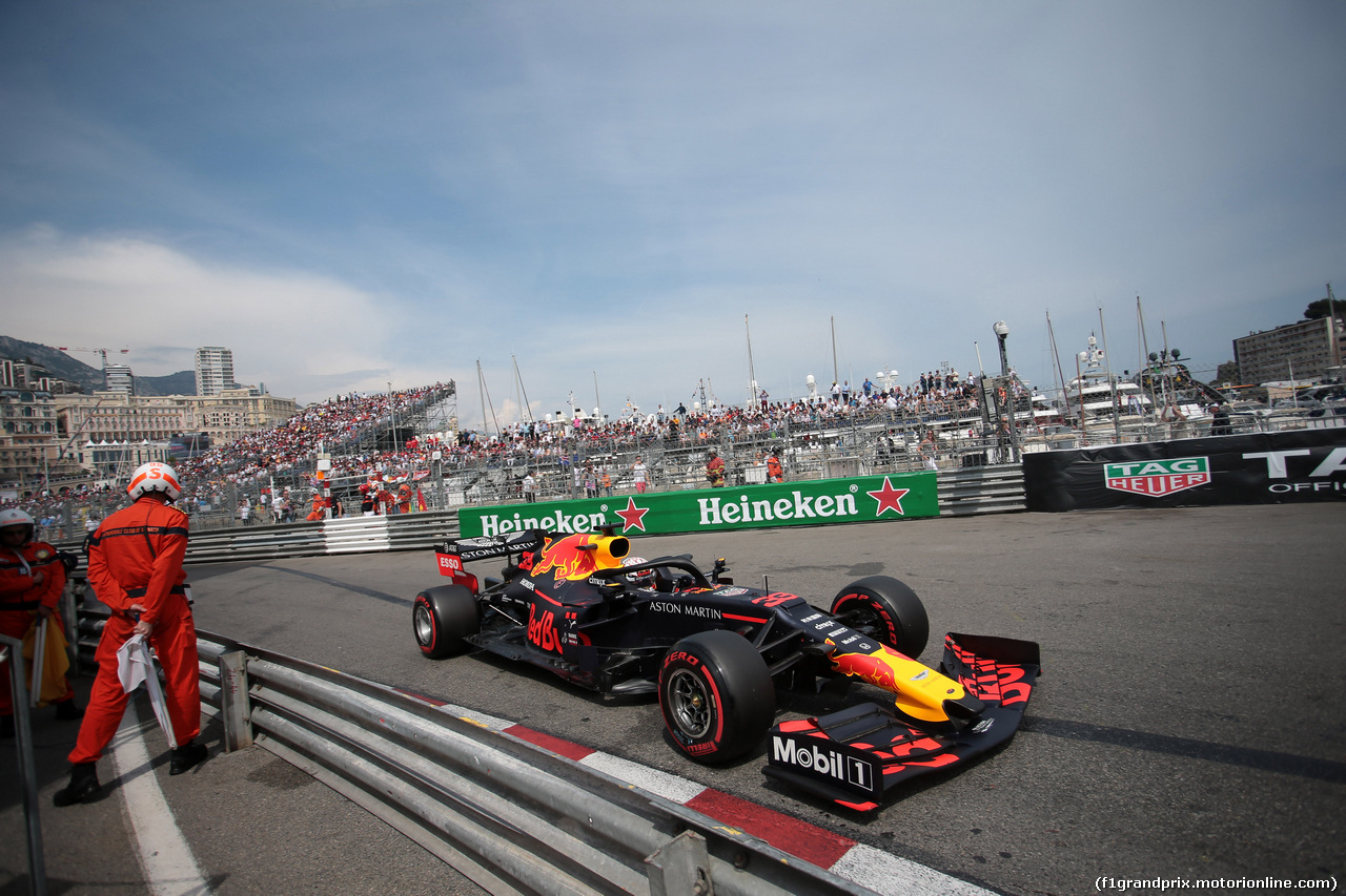 GP MONACO, 25.05.2019 - Qualifiche, Max Verstappen (NED) Red Bull Racing RB15