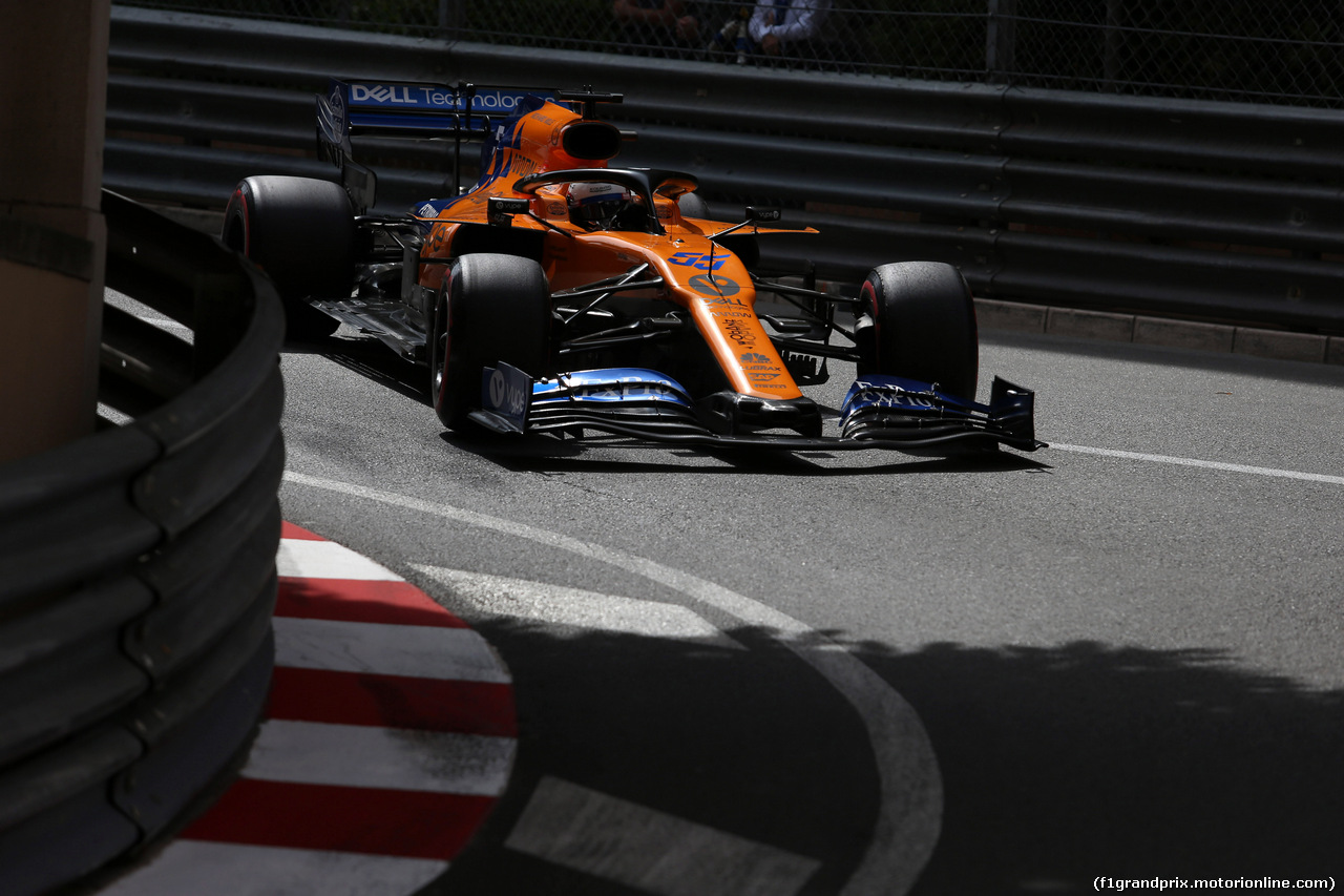 GP MONACO, 25.05.2019 - Qualifiche, Carlos Sainz Jr (ESP) Mclaren F1 Team MCL34