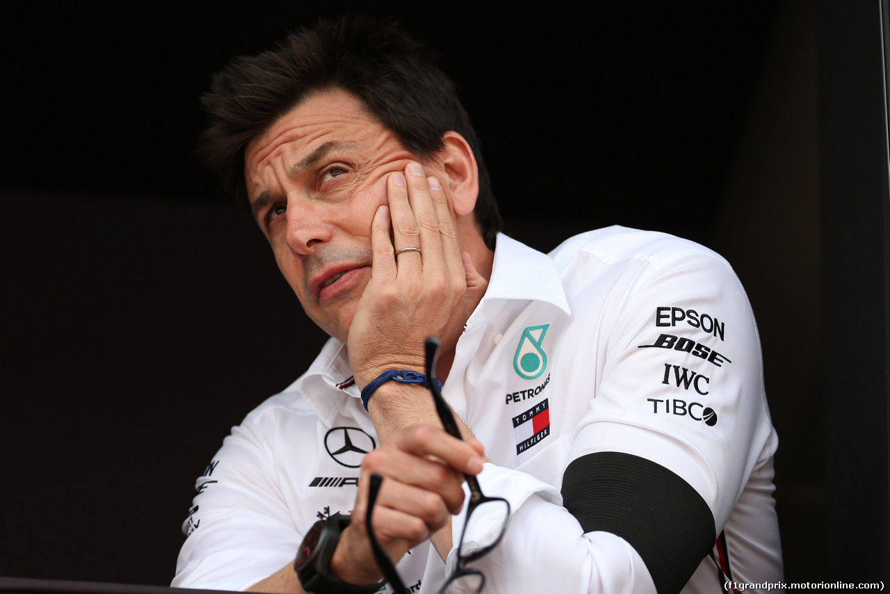 GP MONACO, 25.05.2019 - Qualifiche, Toto Wolff (GER) Mercedes AMG F1 Shareholder e Executive Director