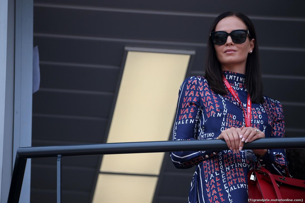 GP MONACO, 25.05.2019 - Qualifiche, Minttu Raikkonen, wife of Kimi Raikkonen (FIN)