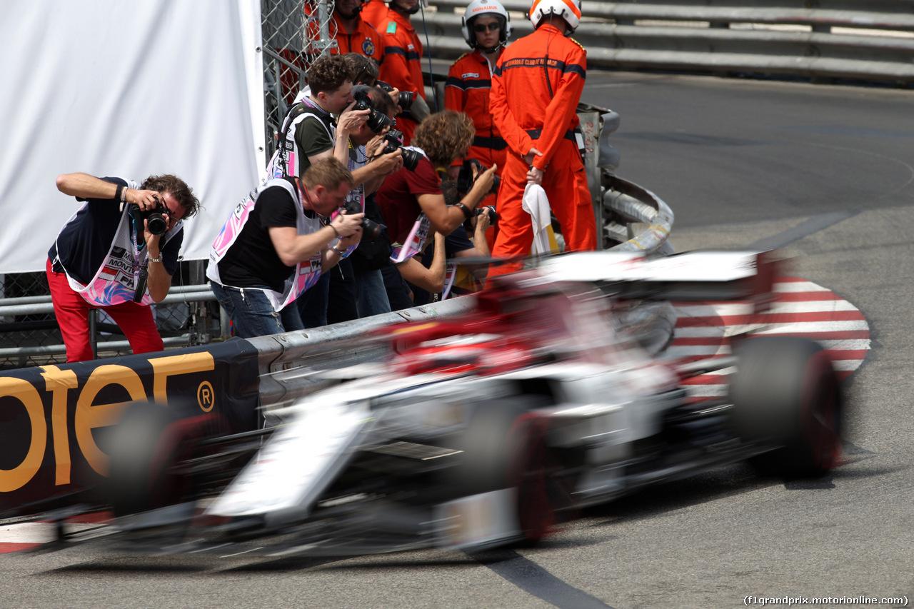 GP MONACO, 25.05.2019 - Qualifiche, Kimi Raikkonen (FIN) Alfa Romeo Racing C38