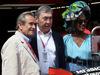 GP MONACO, 25.05.2019 - Free Practice 3,  Jacky Ickx (BEL), Eddy Merckx (BEL) e Khadja Nin, wife of  Jacky Ickx (BEL)