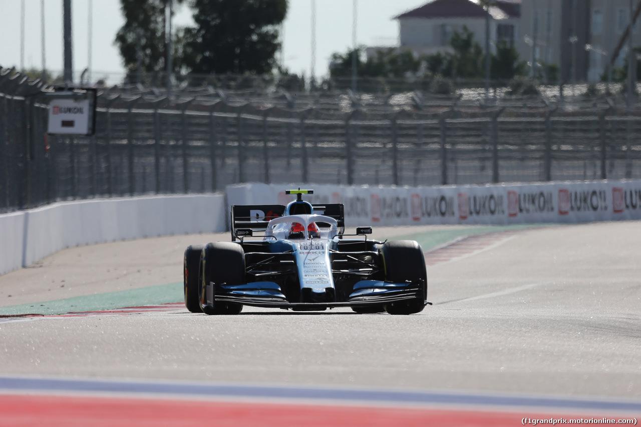 GP RUSSIA, 29.09.2019- Gara, Robert Kubica (POL) Williams F1 FW42