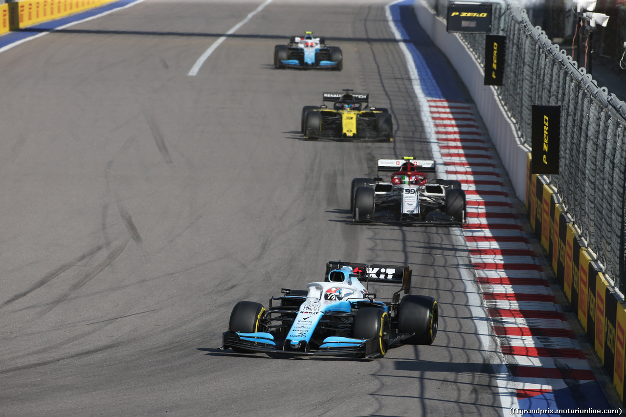 GP RUSSIA, 29.09.2019- Gara, George Russell (GBR) Williams F1 FW42