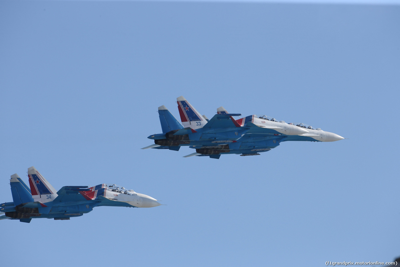 GP RUSSIA, 29.09.2019- airshow