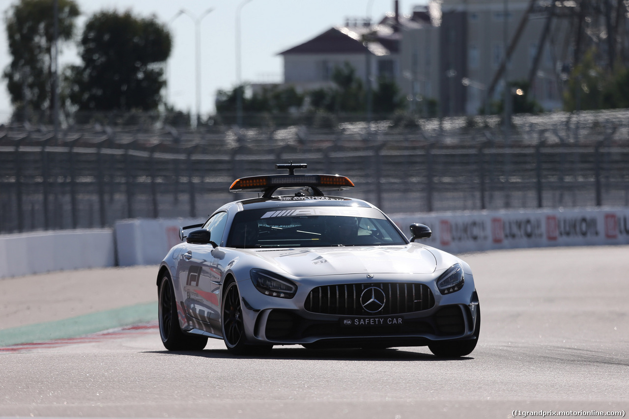 GP RUSSIA, 29.09.2019- The Safety Car