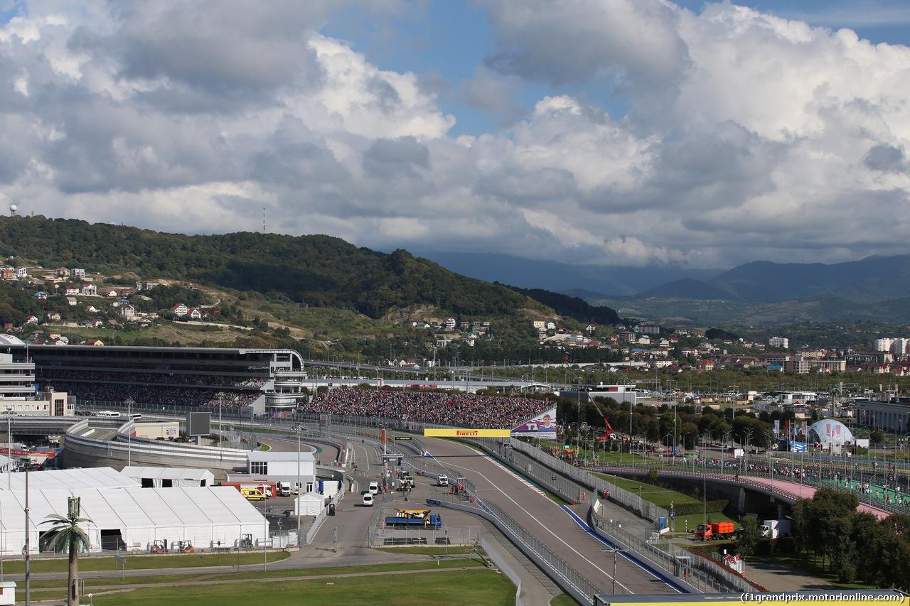 GP RUSSIA, 29.09.2019- Gara, Atmosfera; track; F1; Formula One; GP; Adler