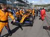 GP RUSSIA, 29.09.2019- grid, Carlos Sainz Jr (ESP) Mclaren F1 Team MCL34