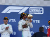 GP RUSSIA, 29.09.2019- Podium, winner Lewis Hamilton (GBR) Mercedes AMG F1 W10 EQ Power kiss the trophy