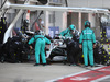 GP RUSSIA, 29.09.2019- Gara, Lewis Hamilton (GBR) Mercedes AMG F1 W10 EQ Power during pit stop