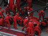 GP RUSSIA, 29.09.2019- Gara, Charles Leclerc (MON) Ferrari SF90 during pit stop