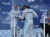 GP RUSSIA, 29.09.2019- Podium, winner Lewis Hamilton (GBR) Mercedes AMG F1 W10 EQ Power, 2nd place Valtteri Bottas (FIN) Mercedes AMG F1 W10 EQ Power