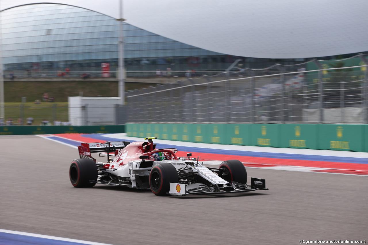 GP RUSSIA, 27.09.2019- Free practice 1, Antonio Giovinazzi (ITA) Alfa Romeo Racing C38
