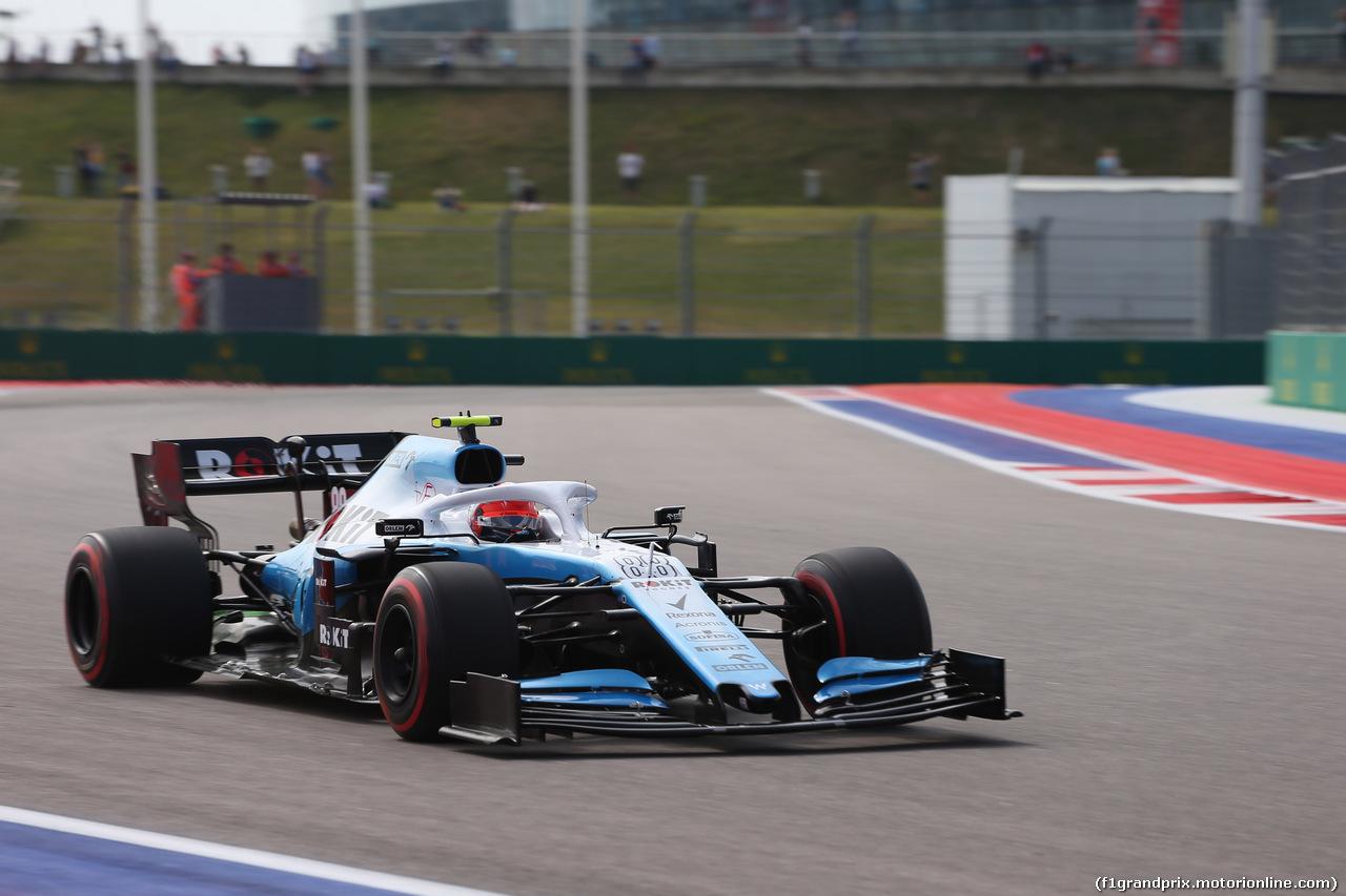 GP RUSSIA, 27.09.2019- Free practice 1, Robert Kubica (POL) Williams F1 FW42
