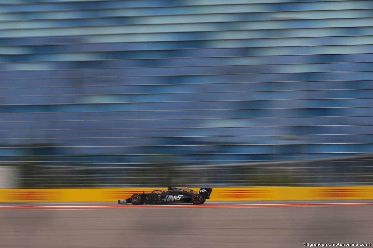 GP RUSSIA, 27.09.2019- Free practice 1, Kevin Magnussen (DEN) Haas F1 Team VF-19