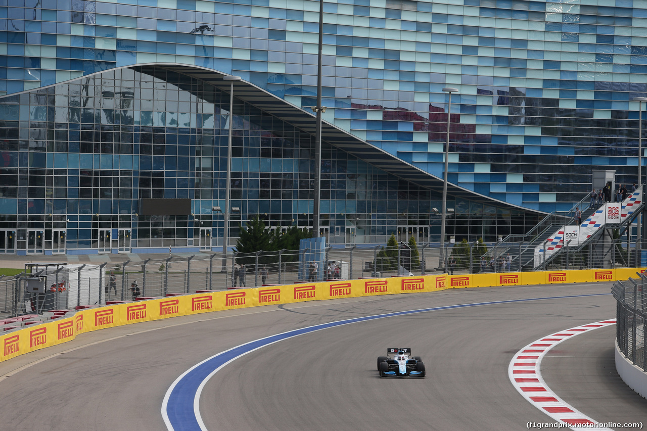 GP RUSSIA, 27.09.2019- Free practice 1, George Russell (GBR) Williams F1 FW42