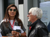 GP RUSSIA, 27.09.2019- Bernie Ecclestone (GBR) with sua moglie Fabiana Flosi (BRA)