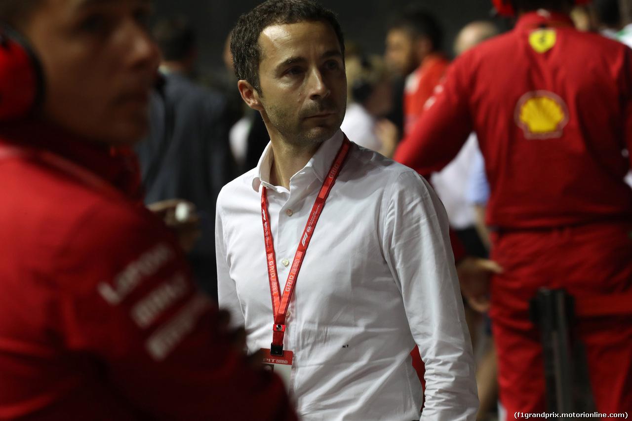 GP SINGAPORE, 22.09.2019 - Gara, Nicola Todt (FRA)