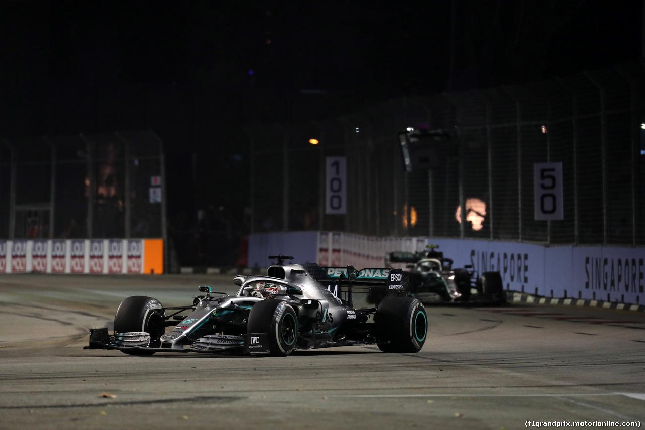 GP SINGAPORE, 22.09.2019 - Gara, Lewis Hamilton (GBR) Mercedes AMG F1 W10