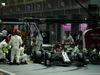 GP SINGAPORE, 22.09.2019 - Gara, Pit stop, Kimi Raikkonen (FIN) Alfa Romeo Racing C38