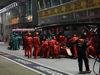 GP SINGAPORE, 22.09.2019 - Gara, Pit stop, Sebastian Vettel (GER) Ferrari SF90