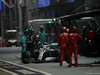 GP SINGAPORE, 22.09.2019 - Gara, Pit stop, Lewis Hamilton (GBR) Mercedes AMG F1 W10
