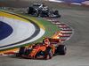 GP SINGAPORE, 22.09.2019 - Gara, Charles Leclerc (MON) Ferrari SF90 e Lewis Hamilton (GBR) Mercedes AMG F1 W10
