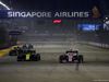GP SINGAPORE, 22.09.2019 - Gara, Daniel Ricciardo (AUS) Renault Sport F1 Team RS19 e Sergio Perez (MEX) Racing Point F1 Team RP19