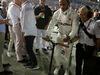 GP SINGAPORE, 22.09.2019 - Gara, Lewis Hamilton (GBR) Mercedes AMG F1 W10 e Angela Cullen (NZL) Mercedes AMG F1 Physiotherapist of Lewis Hamilton (GBR)