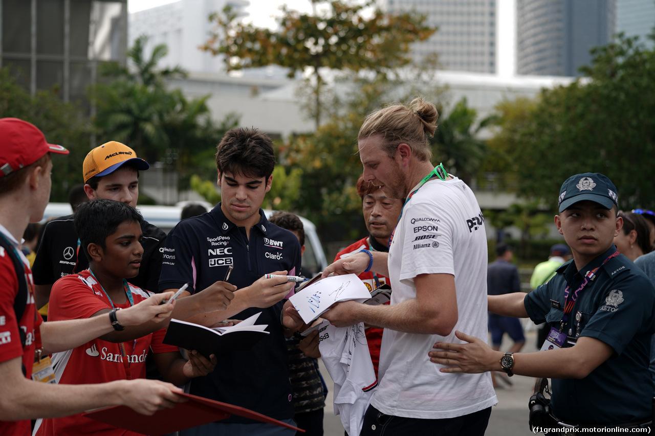 GP SINGAPORE, 21.09.2019 - Lance Stroll (CDN) Racing Point F1 Team RP19