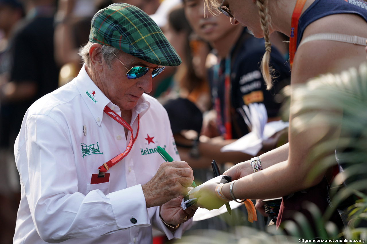GP SINGAPORE, 21.09.2019 - Sir Jackie Stewart (GBR)