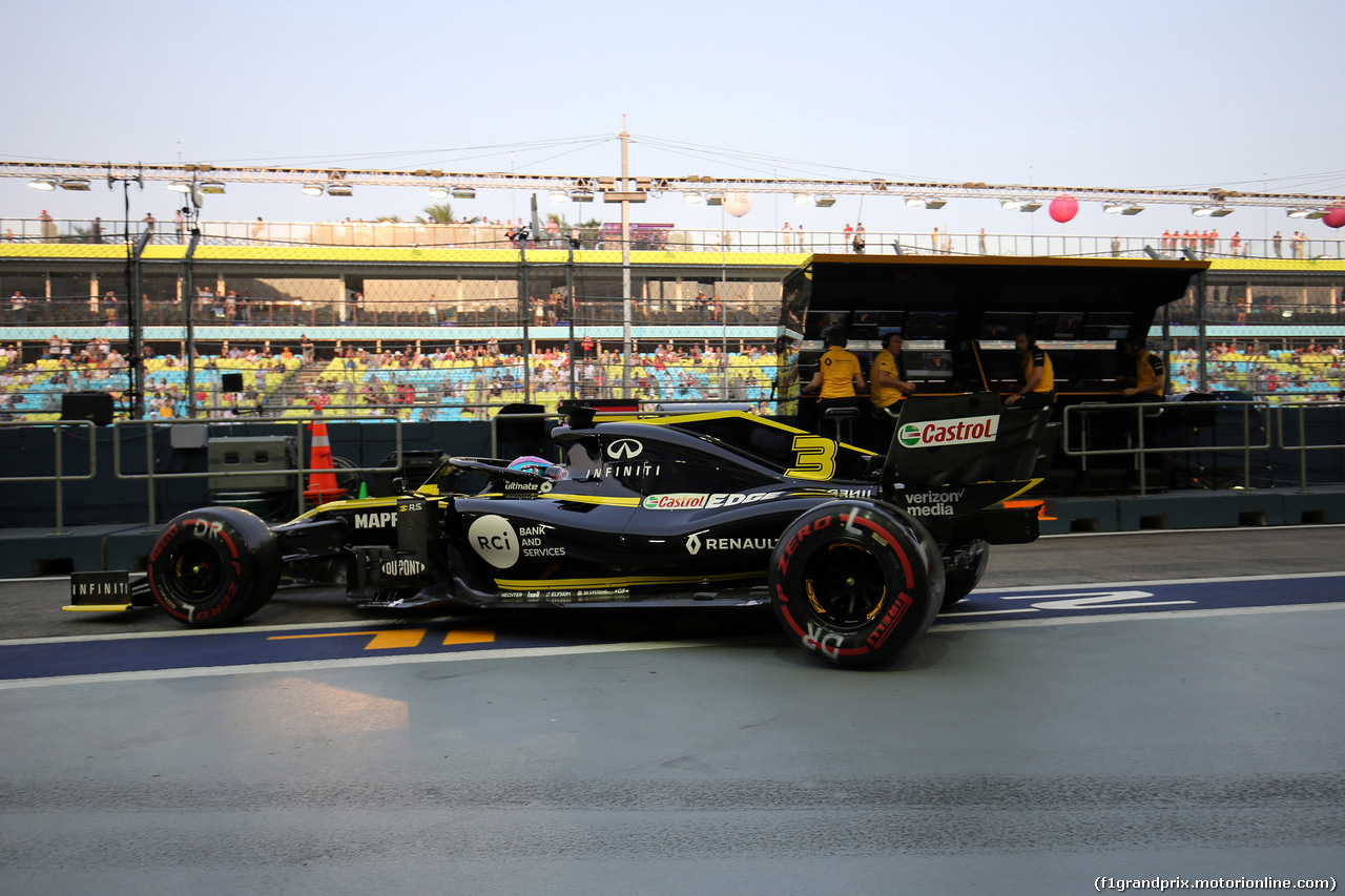 GP SINGAPORE, 21.09.2019 - Prove Libere 3, Daniel Ricciardo (AUS) Renault Sport F1 Team RS19