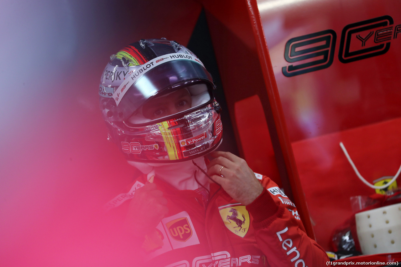 GP SINGAPORE, 21.09.2019 - Prove Libere 3, Sebastian Vettel (GER) Ferrari SF90
