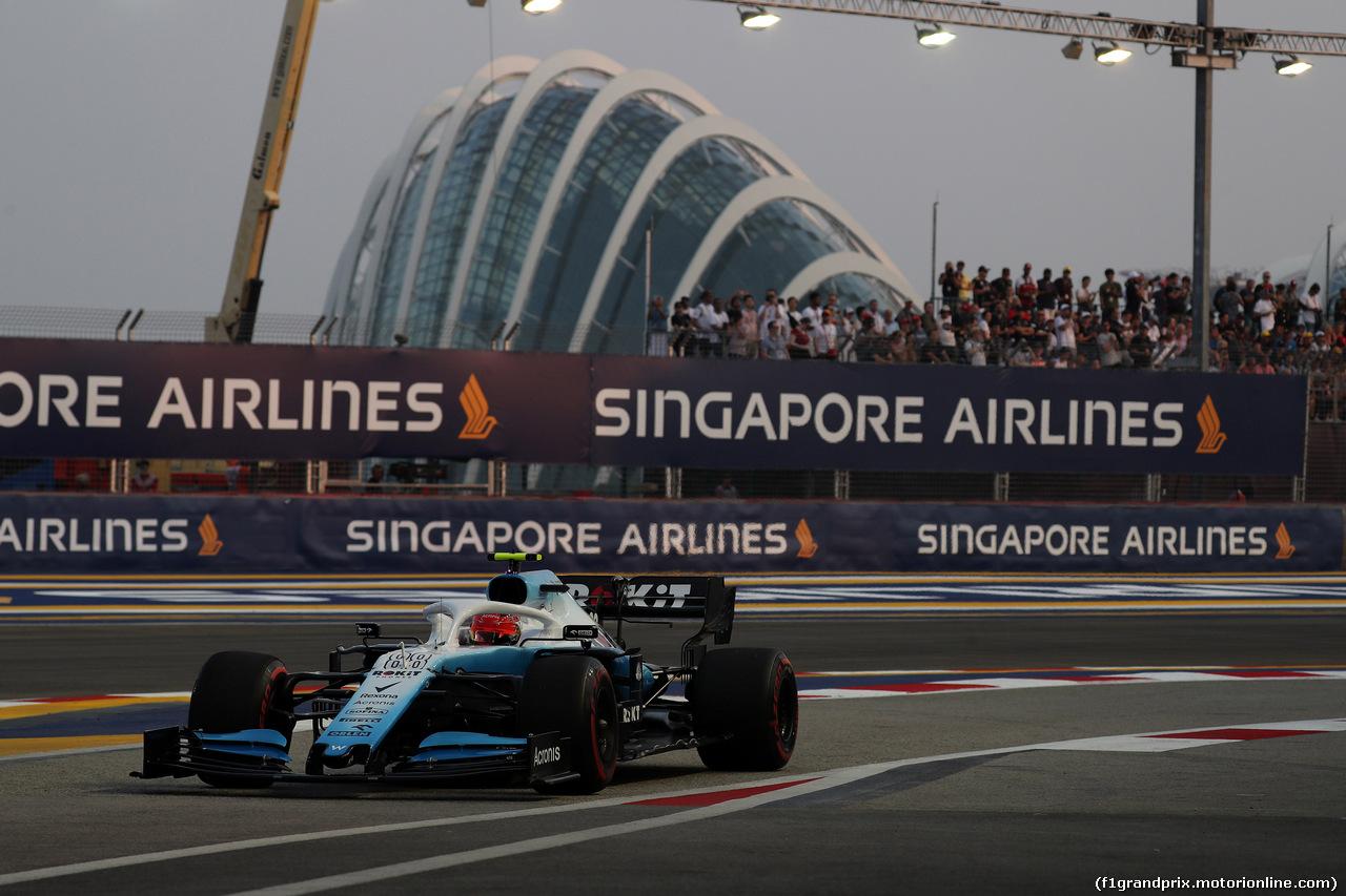 GP SINGAPORE, 21.09.2019 - Prove Libere 3, Robert Kubica (POL) Williams Racing FW42