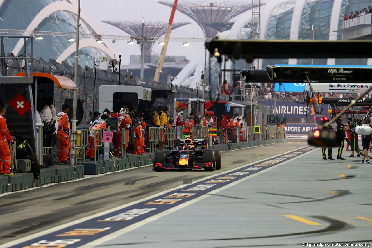GP SINGAPORE, 21.09.2019 - Prove Libere 3, Alexander Albon (THA) Red Bull Racing RB15