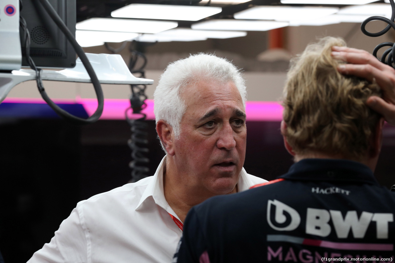 GP SINGAPORE, 21.09.2019 - Prove Libere 3, Lawrence Stroll (CAN) Racing Point F1 Team Investor