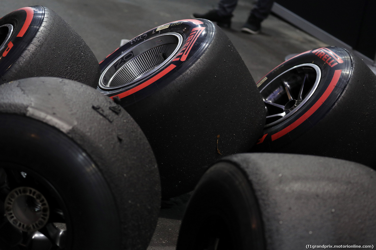 GP SINGAPORE, 21.09.2019 - Prove Libere 3, Pirelli Tyres