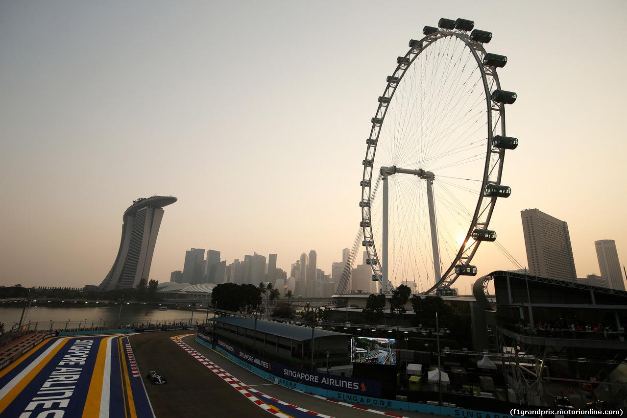 GP SINGAPORE, 21.09.2019 - Prove Libere 3, Lewis Hamilton (GBR) Mercedes AMG F1 W10