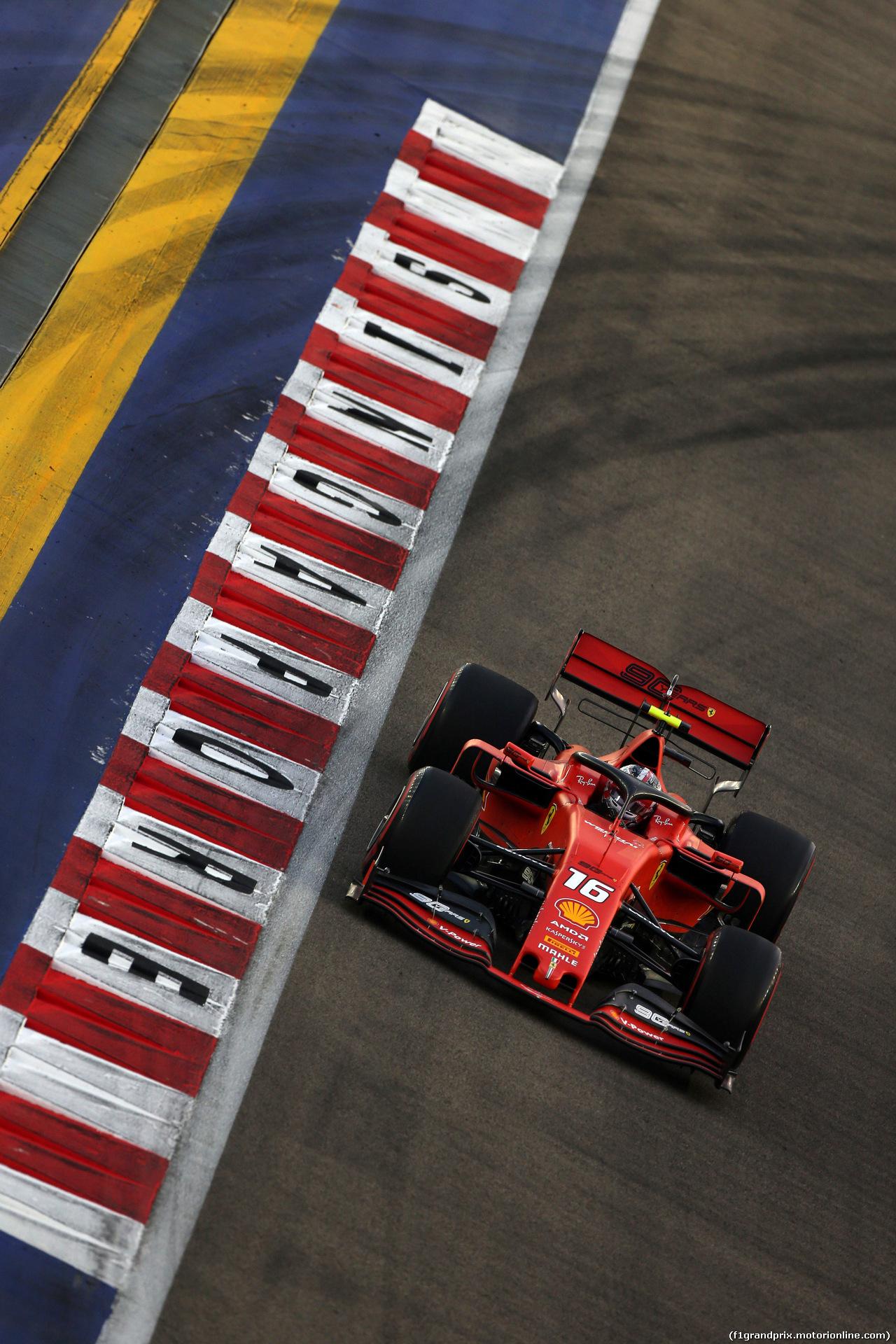 GP SINGAPORE, 21.09.2019 - Prove Libere 3, Charles Leclerc (MON) Ferrari SF90