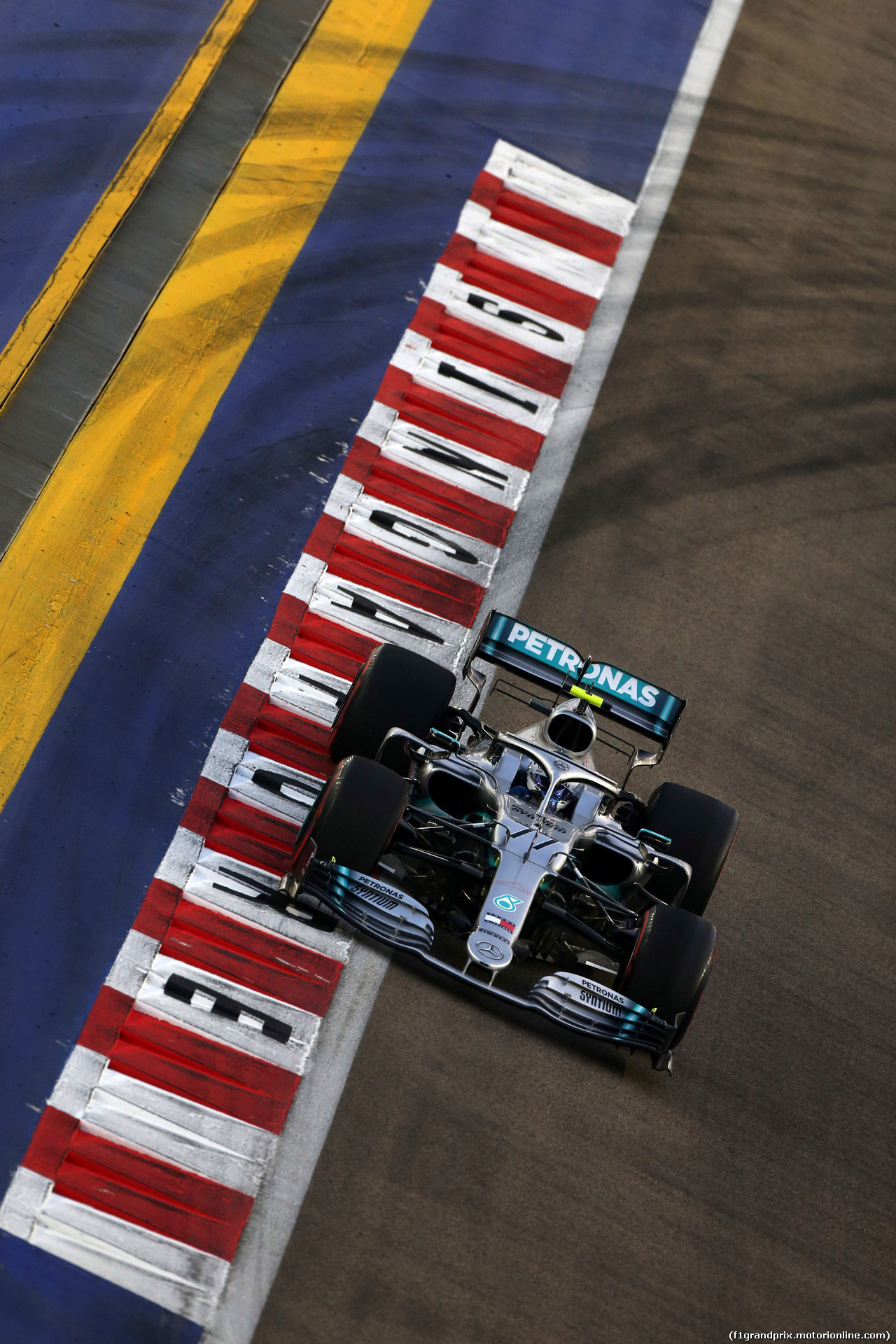 GP SINGAPORE, 21.09.2019 - Prove Libere 3, Valtteri Bottas (FIN) Mercedes AMG F1 W010