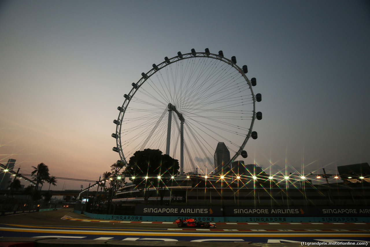 GP SINGAPORE, 21.09.2019 - Prove Libere 3, Max Verstappen (NED) Red Bull Racing RB15