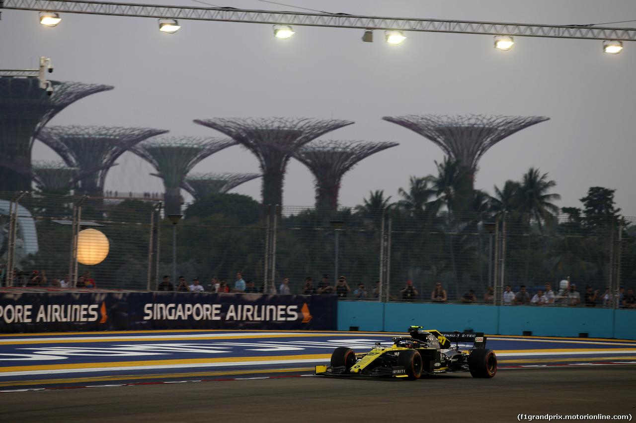 GP SINGAPORE, 21.09.2019 - Prove Libere 3, Nico Hulkenberg (GER) Renault Sport F1 Team RS19
