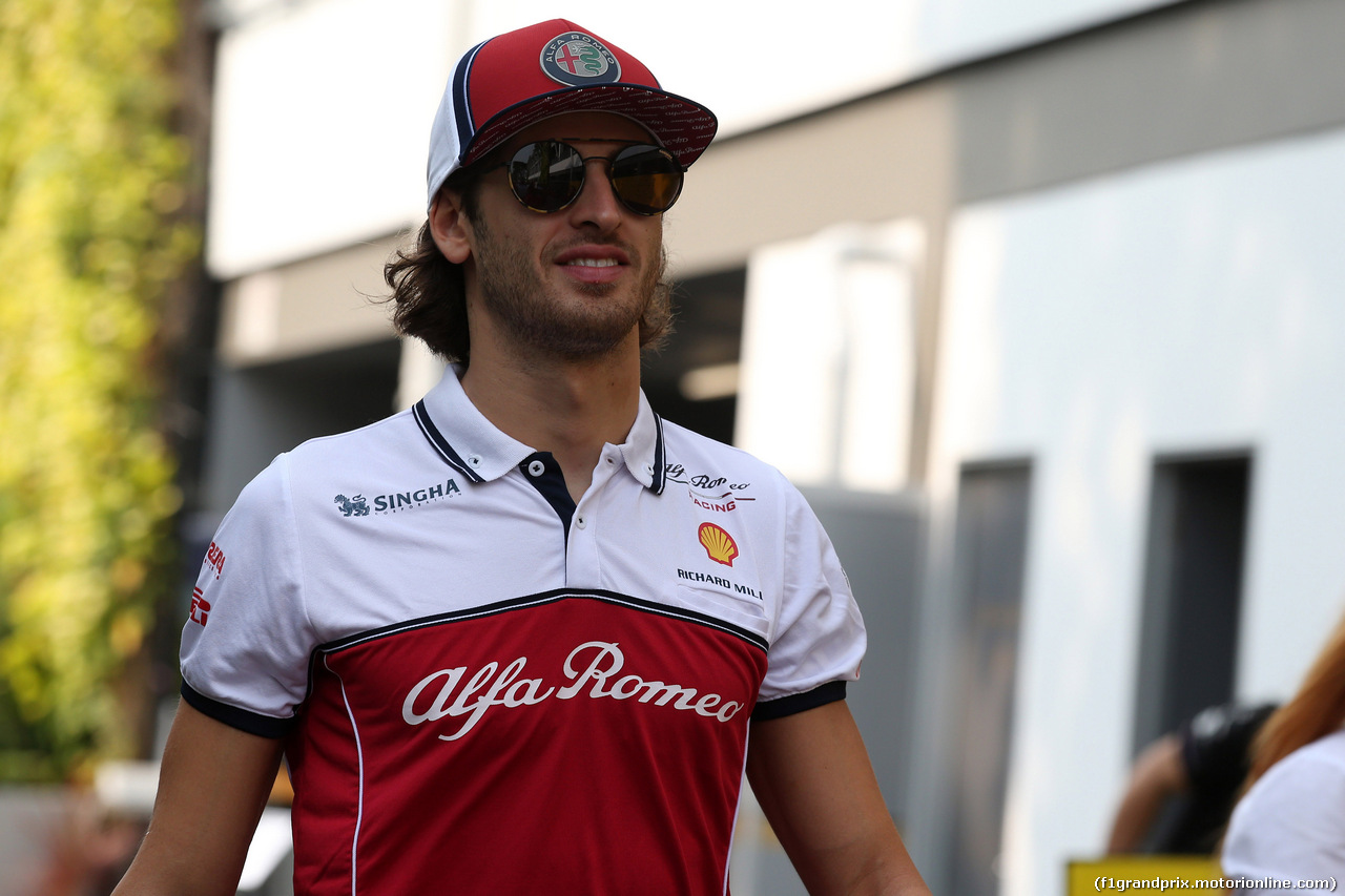 GP SINGAPORE, 21.09.2019 - Prove Libere 3, Antonio Giovinazzi (ITA) Alfa Romeo Racing C38