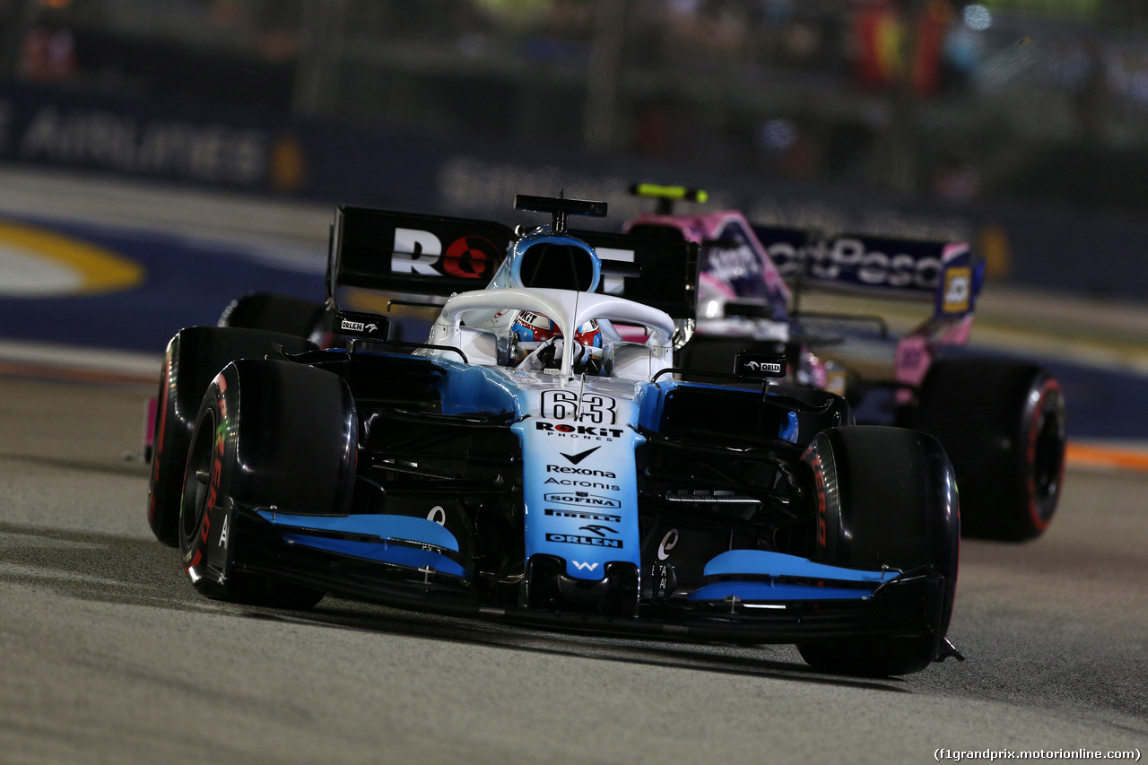 GP SINGAPORE, 21.09.2019 - Qualifiche, George Russell (GBR) Williams Racing FW42
