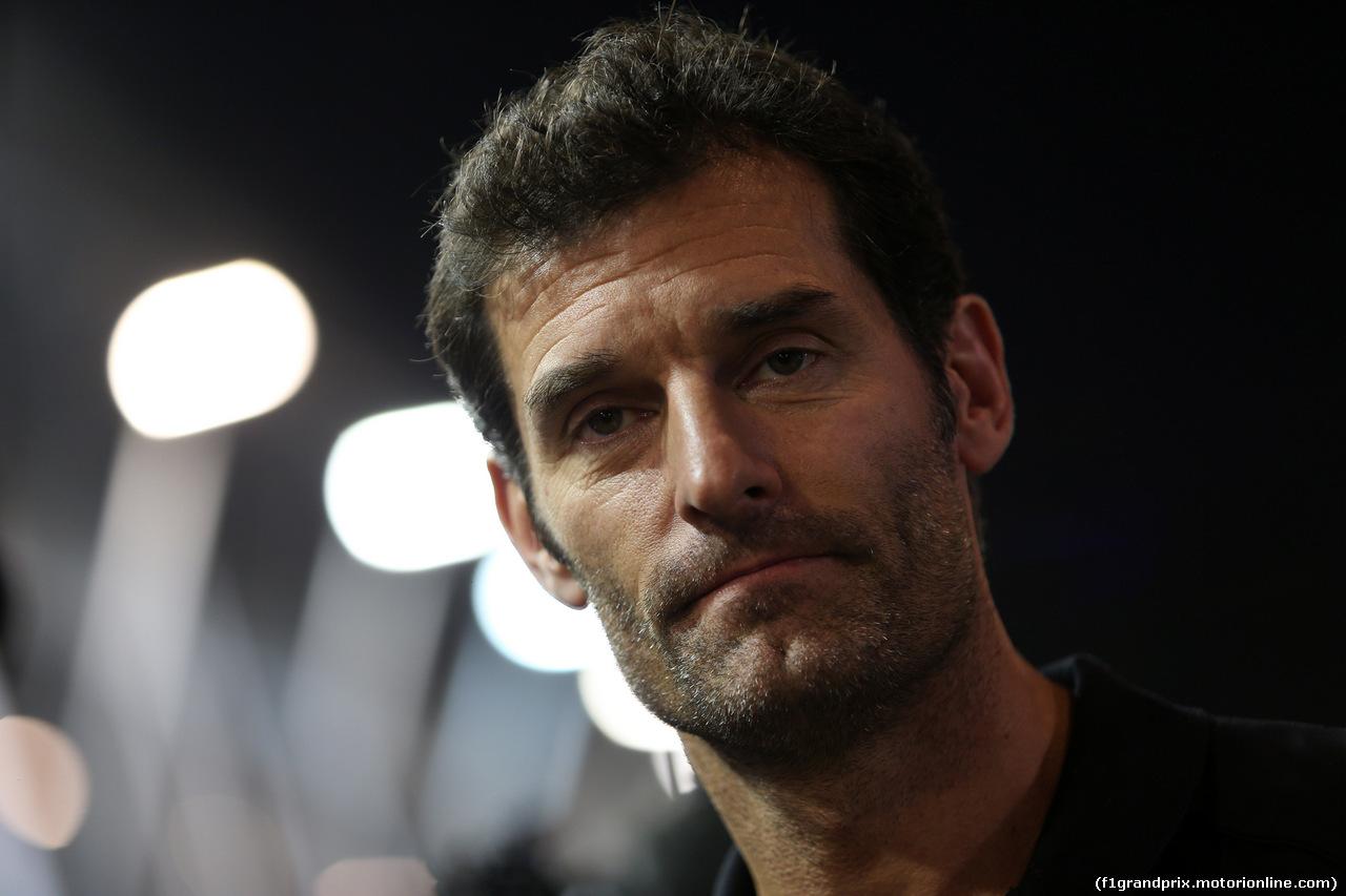 GP SINGAPORE, 21.09.2019 - Qualifiche, Mark Webber (AUS)