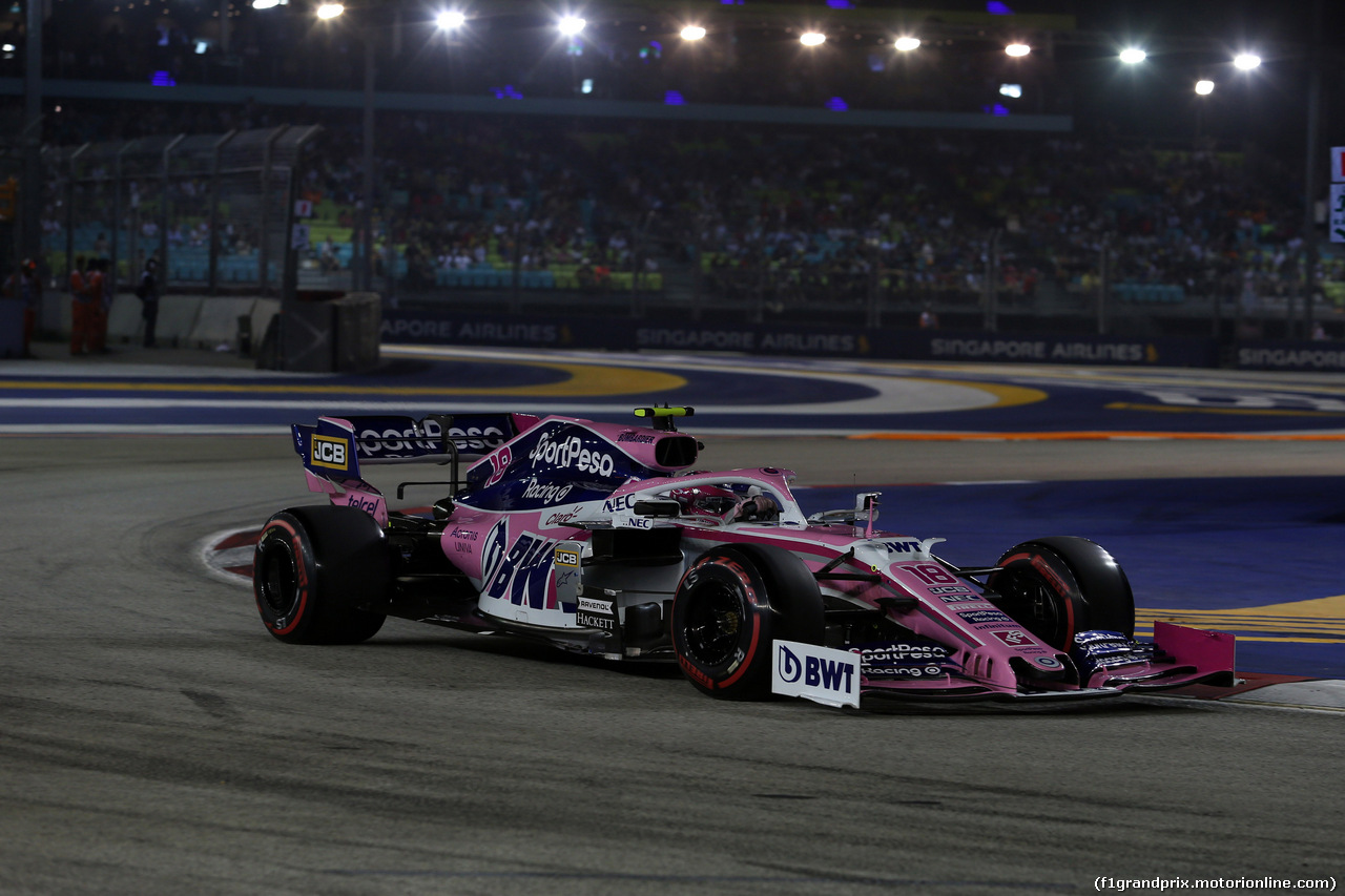 GP SINGAPORE, 21.09.2019 - Qualifiche, Lance Stroll (CDN) Racing Point F1 Team RP19