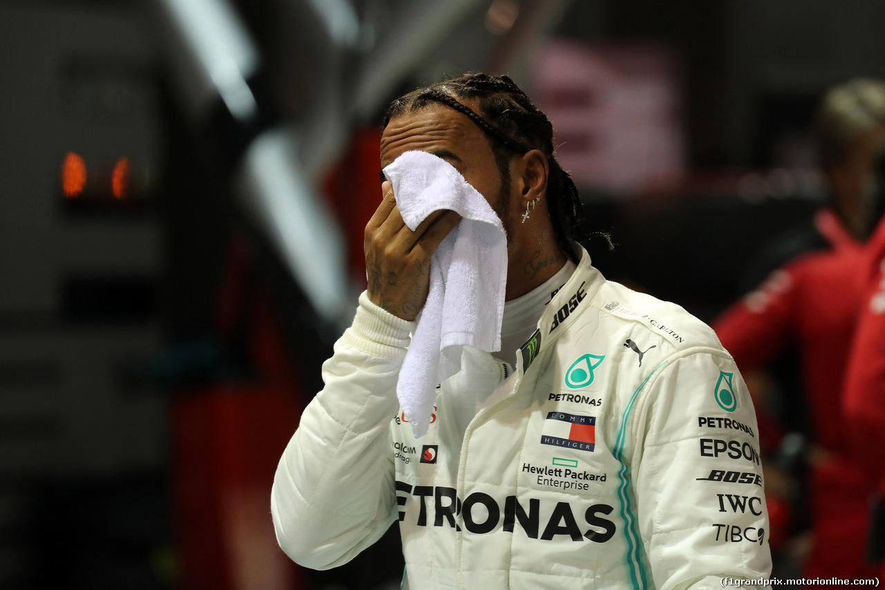 GP SINGAPORE, 21.09.2019 - Qualifiche, 2nd place Lewis Hamilton (GBR) Mercedes AMG F1 W10