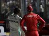 GP SINGAPORE, 21.09.2019 - Qualifiche, 2nd place Lewis Hamilton (GBR) Mercedes AMG F1 W10 e 3rd place Sebastian Vettel (GER) Ferrari SF90