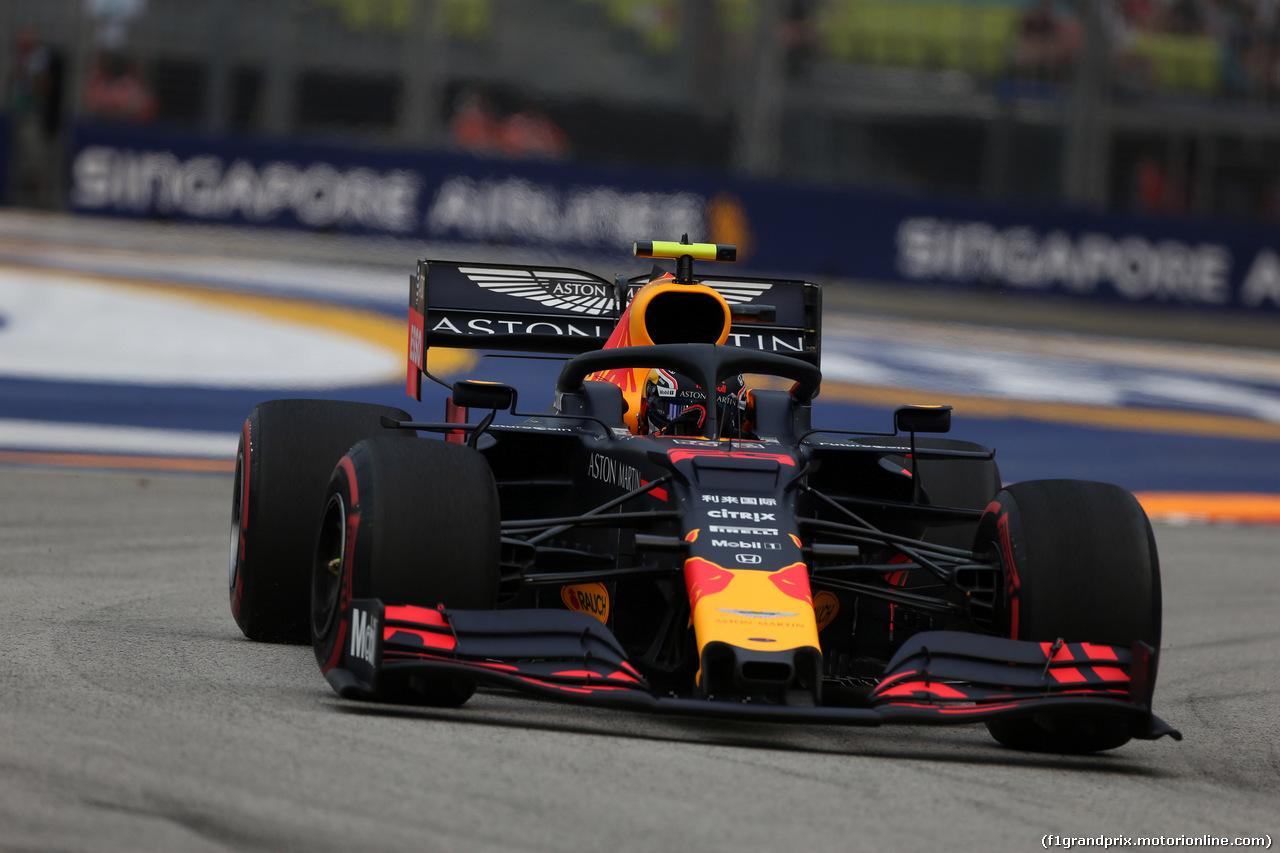GP SINGAPORE, 20.09.2019 - Prove Libere 1, Alexander Albon (THA) Red Bull Racing RB15